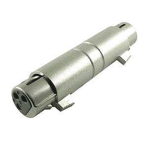 3 Pin Female - 3 Pin Female XLR Adapter