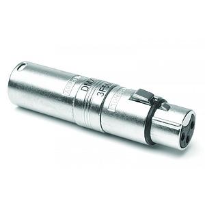 3 Pin Female - 5 Pin Male XLR Adapter