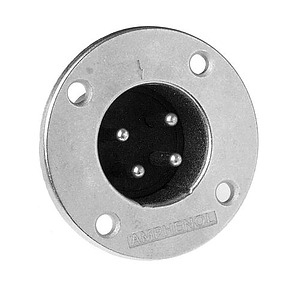 4 Pin Male Panel Mount Connector