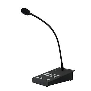 Digital Paging Microphone - 8 Zone