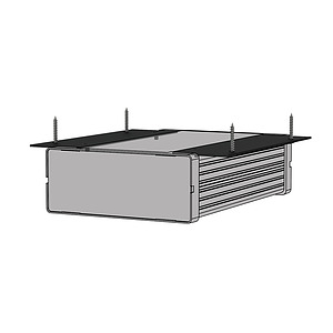 Surface Mount Bracket to suit Audac S-Box