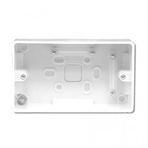 Surface Mount Wallbox to suit DW5066, MWX65, WP523 Wallplates - White