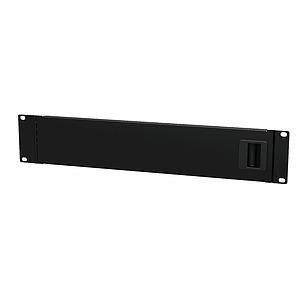 Rack Panel - 2U Blank with Service Door