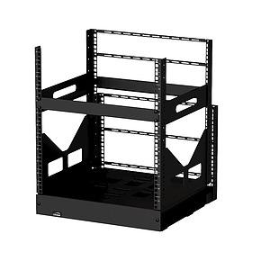 Slide Out Floor Rack - 12RU