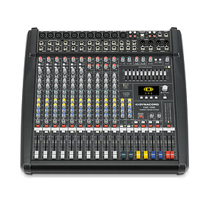 10 Channel Mixer with DSP