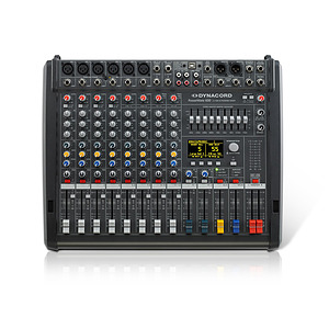 8 Channel Powered Mixer
