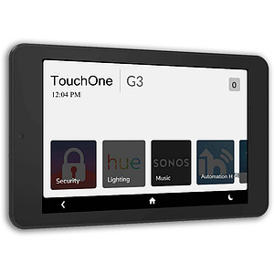 """TouchOne 7"""" Black Touch Screen - Plug Pack PS"""