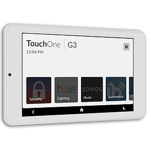 """TouchOne 7"""" White Touch Screen - Plug Pack PS"""