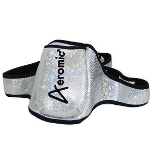 Pouch Belt Silver Glitter