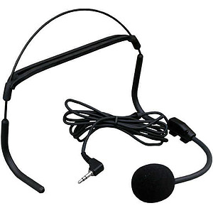 Headworn Dynamic Microphone with 3.5mm Stero Jack