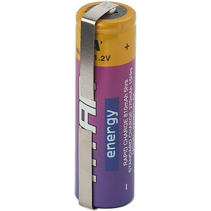 Set of 2 Rechargeable NiMH Batteries