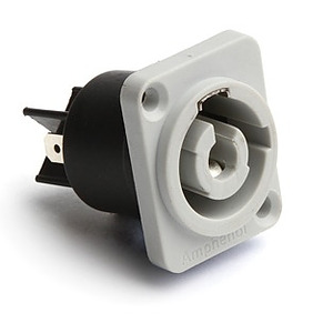 Powercon Panel Connector - Mains Out