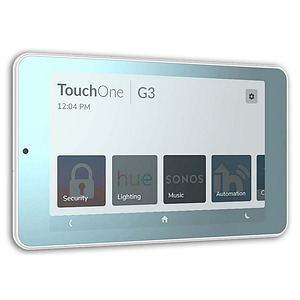 """TouchOne 7"""" Mirror Touch Screen - Plug Pack PS"""